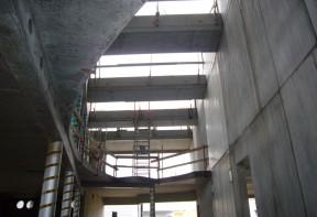 chantier béton
