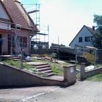 chantier d'extension de maison l'entreprise de Schweighouse